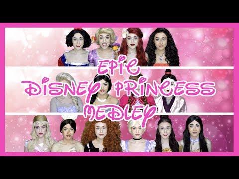 EPIC DISNEY PRINCESS MEDLEY! | Georgia Merry