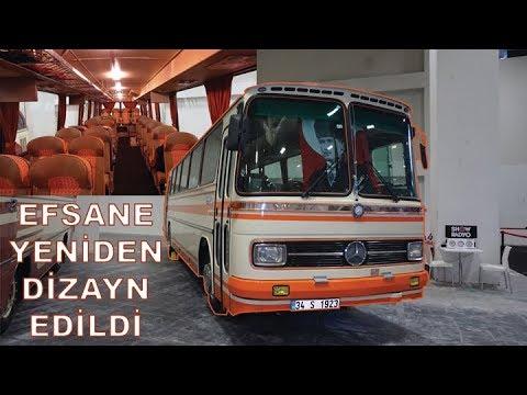Mercedes O 302 VIP; İşte O Yeniden Yapılan Efsane Otobüs