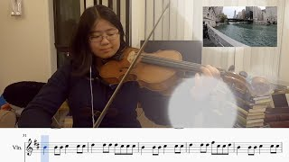 Something Just Like This - Coldplay & The Chainsmokers - Violin Cover by Linda Peng