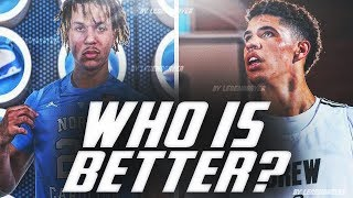 LAMELO BALL VS. COLE ANTHONY: Who's WORTHY of the #1 PICK?!