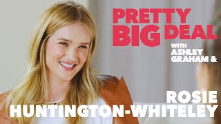 Rosie Huntington-Whiteley on how ambition fuels her