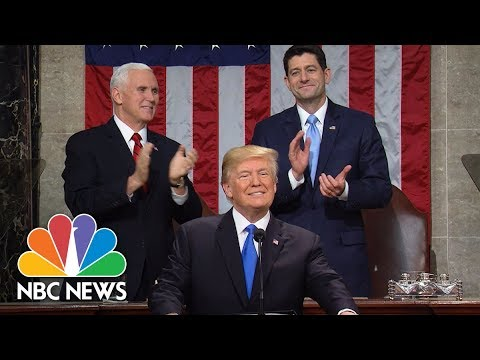 Watch Live: President Donald Trump's 2018 State of the Union Address   NBC News