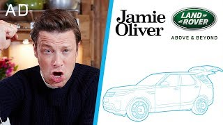 I Designed My Own Kitchen Car!!! | Jamie Oliver & Land Rover Part 1 | AD