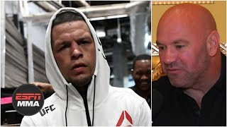 Nate Diaz vs. Jorge Masvidal is a done deal for UFC 244 - Dana White   ESPN MMA