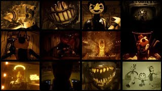 BENDY AND THE INK MACHINE CHAPTER 1-5 ALL CUTSCENES