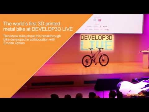 The world's first 3D printed metal bike at DEVELOP3D LIVE