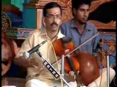 Violin Concert by Krishnaraj at Dakshina Mookambi Temple, Panachikkadu