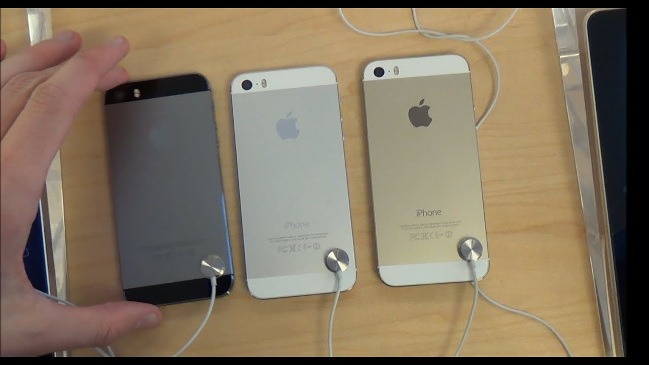 Iphone 5s silver vs black