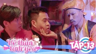 Thầy Pháp Giải Bùa Yêu Cho Vệ Thần   VỆ THẦN TÌNH YÊU   TẬP 13   Khánh Vũ - Nhi Katy - Pinky