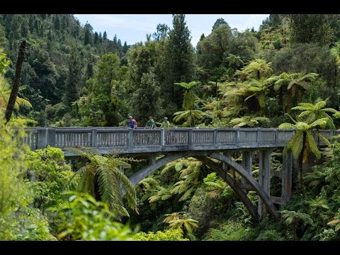 Mountains to Sea cycle trail, Ruapehu, New Zealand
