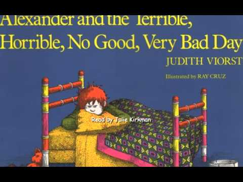 Alexander and the Terrible, Horrible, No Good, Very Bad Day by ...