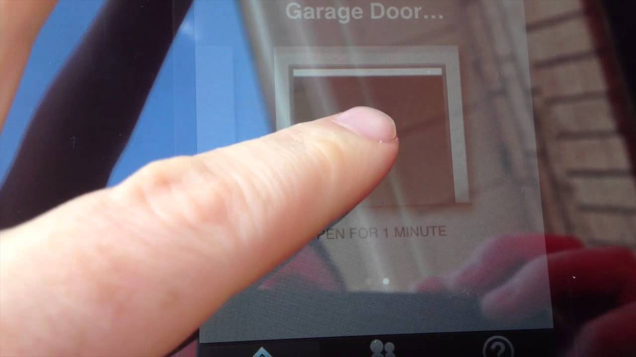 How To Open Garage Door And Turn On Off Light With Iphone
