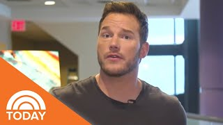 Chris Pratt Surprises Kids At A 'Jurassic World' Screening | TODAY
