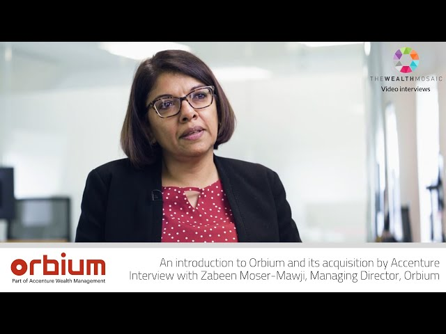 An Introduction to Orbium and its Acquisition by Accenture