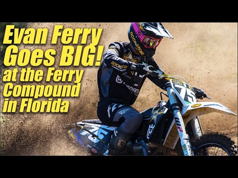 Evan Ferry Goes Big at Ferry Compound! - Motocross Action Magazine