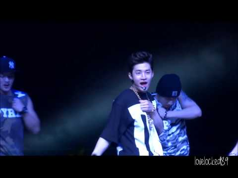 140517 Henry Performing Trap at Singapore e-awards
