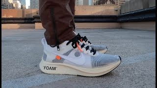 f4446bdd8 On-Feet  Off-White x Nike Zoom Fly Videos - mp3toke