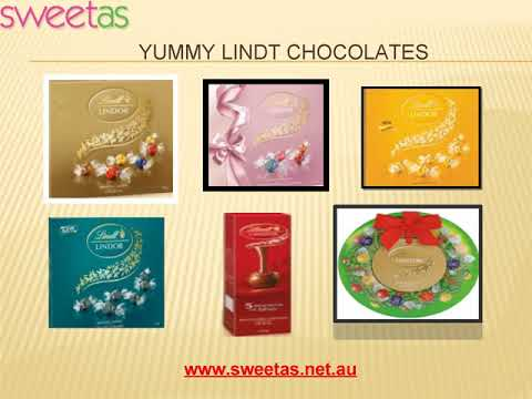 Buy Lindt Chocolates from Sweet As