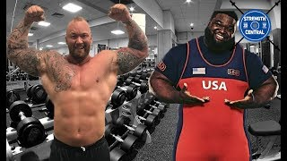 Worlds Strongest Man Vs Worlds Strongest Powerlifter. Who is Stronger?