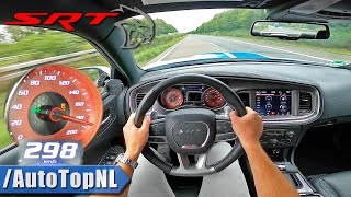 717HP DODGE CHARGER HELLCAT on AUTOBAHN [NO SPEED LIMIT] by AutoTopNL