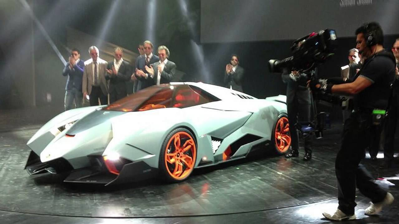 New Lamborghini Egoista Reveal Of One Seater Supercar