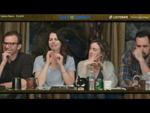Critical Role: Laura Bailey's 13 Year Old Humour Supercut