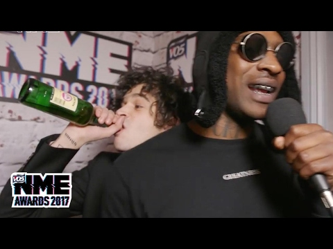Matty Healy jumps in as Skepta discusses staying focussed at the VO5 NME Awards 2017