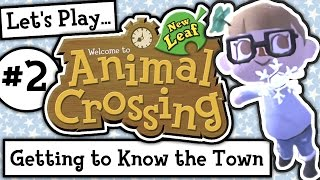 Let's Play: Animal Crossing New Leaf Welcome Amiibo (Ep 2)