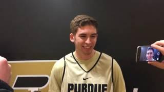 Purdue Basketball's Ryan Cline interview