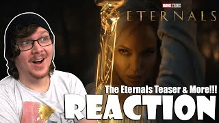 THE ETERNALS | MARVEL CELEBRATES THE MOVIES - Reaction! Teasers! Release Dates! Title Reveals!