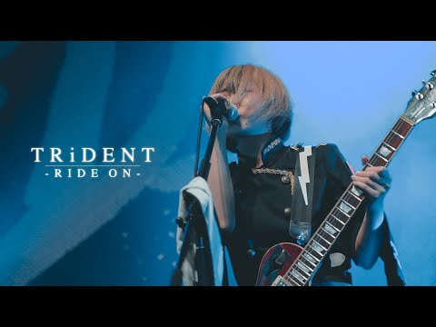 TRiDENT『RIDE ON』LIVE MUSIC VIDEO at Zepp Haneda