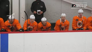 Flyers Mic'd Up: Travis Konecny - Training Camp