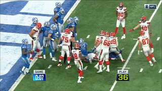 End of Half Goes Terribly Wrong for Cleveland vs. Detroit | Can't-Miss Play | NFL Wk 10