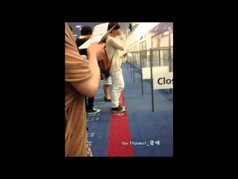 [Fancam] 120806 EXO @ Haneda Airport by Haseol_雪晴