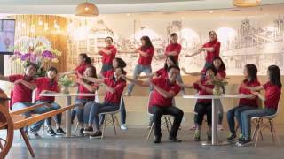 Flash mob Masan - Happy