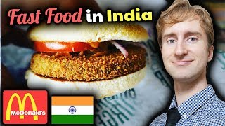 McDonald's India Review // BUCKWILD Burgers and Fast Food in Chennai, Tamil Nadu