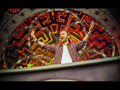 David Guetta at Tomorrowland Belgium 2016