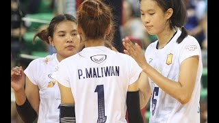 Bangkok Glass vs 3BB นครนนท์ | Volleyball Thailand League 2016 [LEG 2]