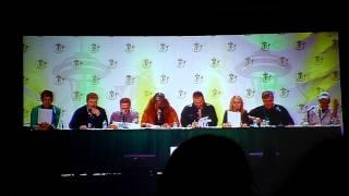 Voice Actors reading Star Wars script panel clip 1