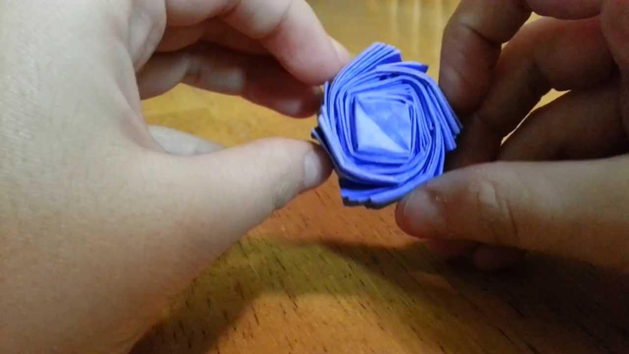 Origami Super Easy Flasher, Designed By Jeremy Shafer ... - photo#37