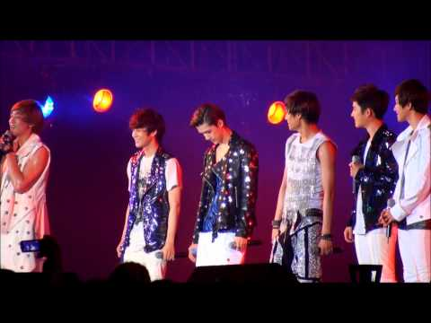 [Fancam]20120712 EXO-K TALK2 D.O.'s Beat Box & CHANYEOL's Rap @ Yeosu Expo Pop Festival (HD)
