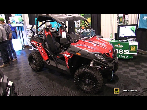 2017 CfMoto ZForce 800 Side By Side ATV - Walkaround - 2016 Toronto ATV Show
