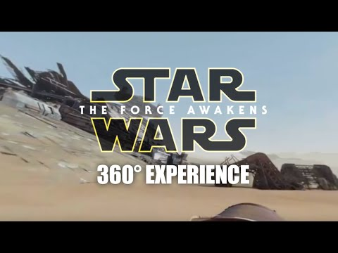 Star Wars - The Force Awakens (360 degrees experience)