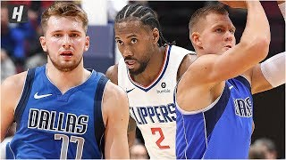 Dallas Mavericks vs Los Angeles Clippers - Full Game Highlights | October 17, 2019 NBA Preseason