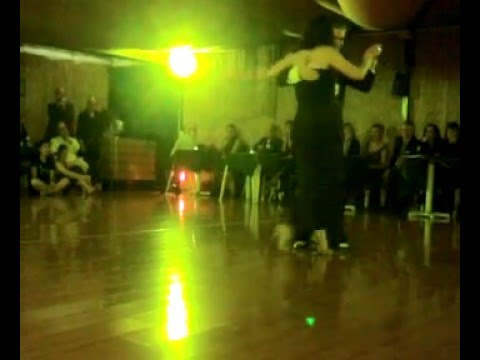 Alessandro Vitrone e Rocio Rubio  al Giardino del tango -