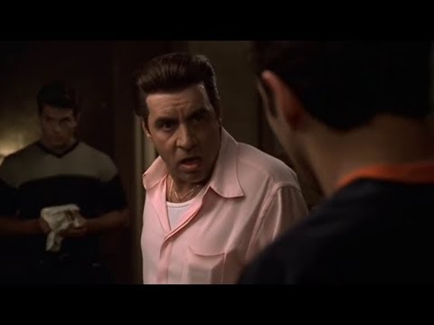 Silvio Is Angry About Cheese - The Sopranos HD