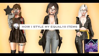 "How I style what I got on ""Equal10"" 