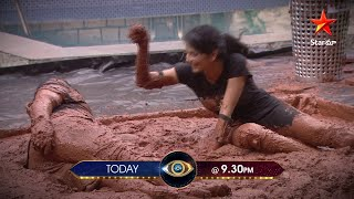 Bigg Boss 4 promo: 4 contestants get into mud for captainc..