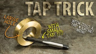 Using a TAP as Thread Boring Tool