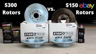 $150 eBay Rotors vs $300 Rotors - 6 Year Review